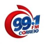Logo da emissora Rádio Correio 99.1 FM