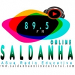 Logo da emissora Rádio Saldanha Online