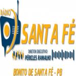 Logo da emissora Rádio Santa Fé