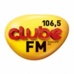Logo da emissora Rádio Clube 106.5 FM