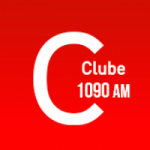 Logo da emissora Rádio Clube 1090 AM