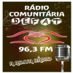 Logo da emissora Rádio Defat FM