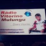 Logo da emissora Rádio Vitorino Mulungu