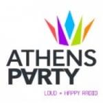Logo da emissora Athenas Party