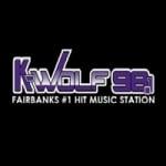 Logo da emissora KWLF 98.1 FM K-Wolf