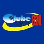 Logo da emissora Rádio Clube 820 AM