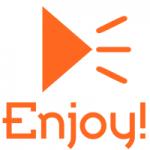 Logo da emissora Rádio Enjoy FM