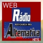 Logo da emissora Rádio Alternativa Hits