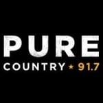 Logo da emissora Radio CICS Pure Country 91.7 FM