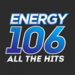Logo da emissora Energy 106 - CHWE 106.1 FM
