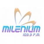 Logo da emissora Radio Millenium 103.3 FM