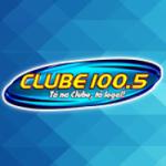 Logo da emissora Rádio Clube 100.5 FM