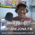 Logo da emissora Rádio Sertanejona FM