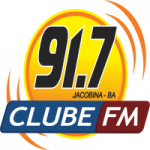 Logo da emissora Rádio Clube 91.7 FM