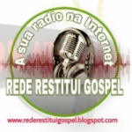 Logo da emissora Radio Restitui Gospel