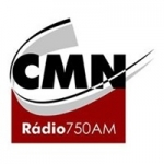 Logo da emissora Rádio CMN 750 AM