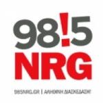 Logo da emissora NRG 98.5 FM