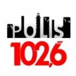 Logo da emissora Radio Polis 102.6 FM