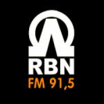 Logo da emissora Rádio Boas Novas 91.5 FM