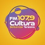 Logo da emissora Rádio Cultura 107.9 FM