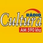 Logo da emissora Rádio Cultura 590 AM