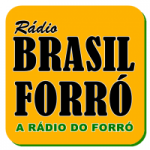 Logo da emissora Rádio Brasil Forró