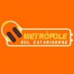 Logo da emissora Metrópole - Sul Catarinense