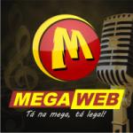 Logo da emissora Mega 105 Web