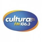 Logo da emissora Rádio Cultura 106.3 FM
