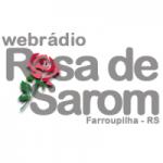 Logo da emissora Web Rádio Rosa De Sarom