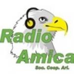 Logo da emissora Amica 90.8 FM