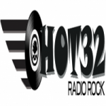 Logo da emissora Rádio Hot 32