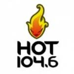 Logo da emissora Radio Hot 104.6 FM