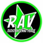 Logo da emissora Antenna Verde 95.5 FM