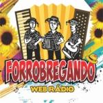 Logo da emissora Rádio Forrobregando