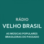 Logo da emissora Rádio Velho Brasil