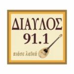 Logo da emissora Radio Diavlos 91.1 FM