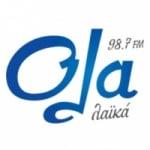 Logo da emissora Radio Ola 98.7 FM