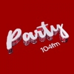 Logo da emissora Radio Party 104 FM