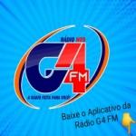 Logo da emissora Rádio G4 FM