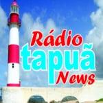 Logo da emissora Rádio Itapuã News