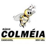 Logo da emissora Rádio Colméia 650 AM