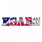 Logo da emissora Radio KGAB 650 AM