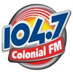 Logo da emissora Rádio Colonial 104.7 FM