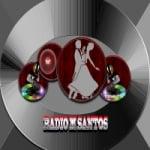 Logo da emissora Radio M Santos