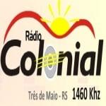 Logo da emissora Rádio Colonial 1460 AM