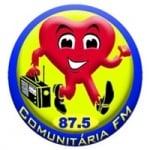 Logo da emissora Rádio Comunitária 87.5 FM