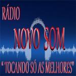 Logo da emissora Rádio Novo Som