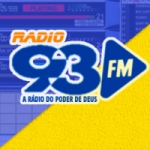 Logo da emissora Web Rádio 93 FM