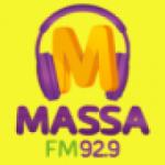 Logo da emissora Rádio Massa 92.9 FM
